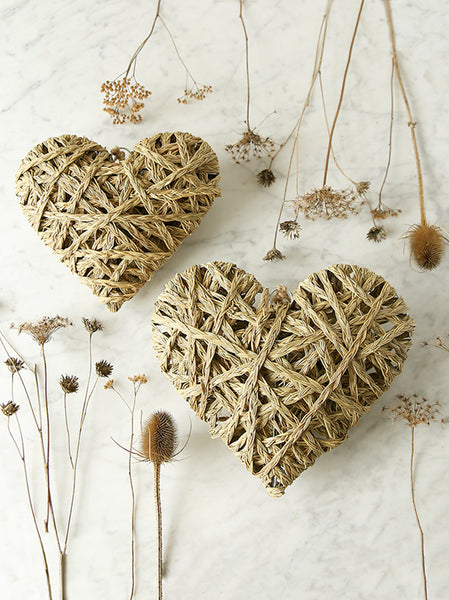Woven Hanging Heart