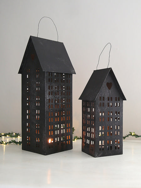 Tall Storeys Tea Light Houses