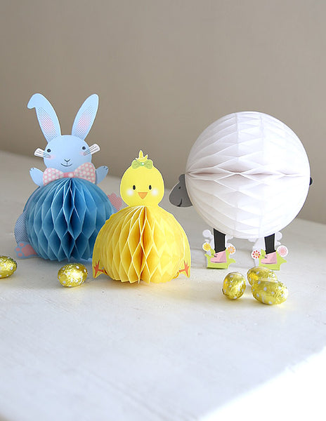 Easter Bunny And Friends Decoration Set