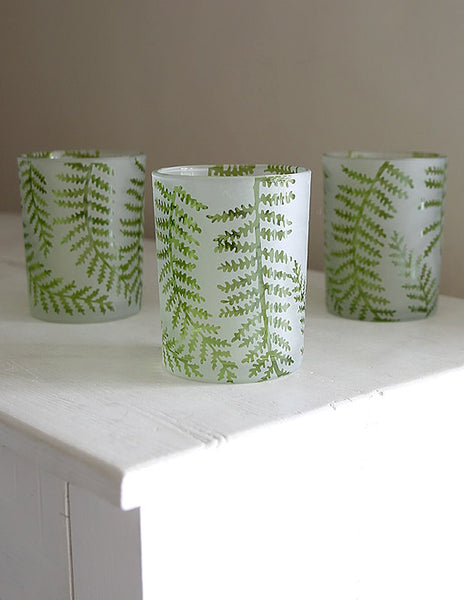 Fern Tealight Holder or Vase