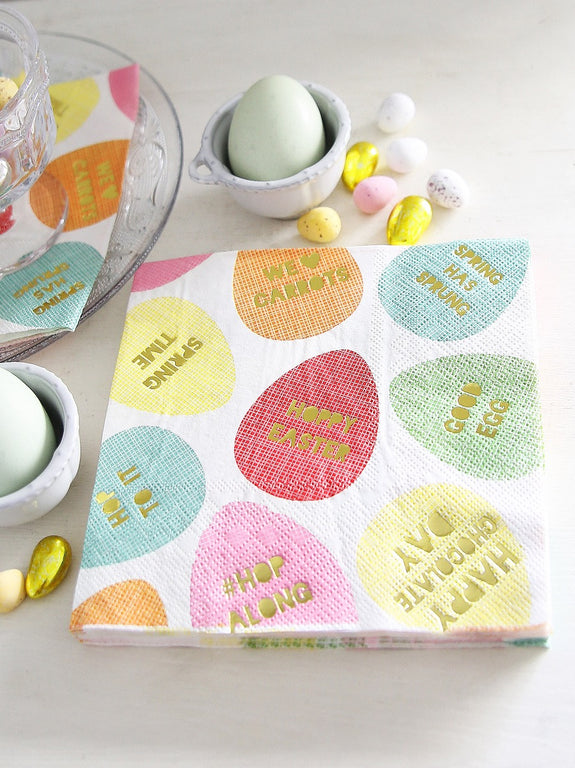 Hoppy Easter Napkin Set