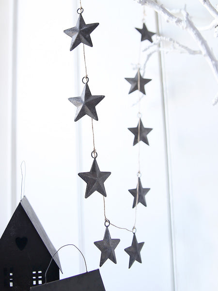 Metal Star Garland