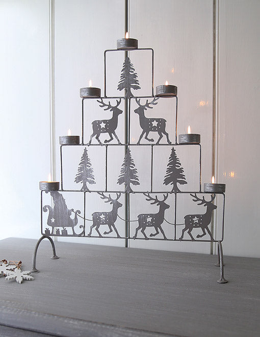 Reindeer Tealight Tier