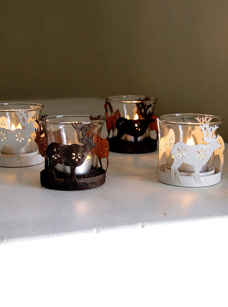 Reindeer Tealight Votive