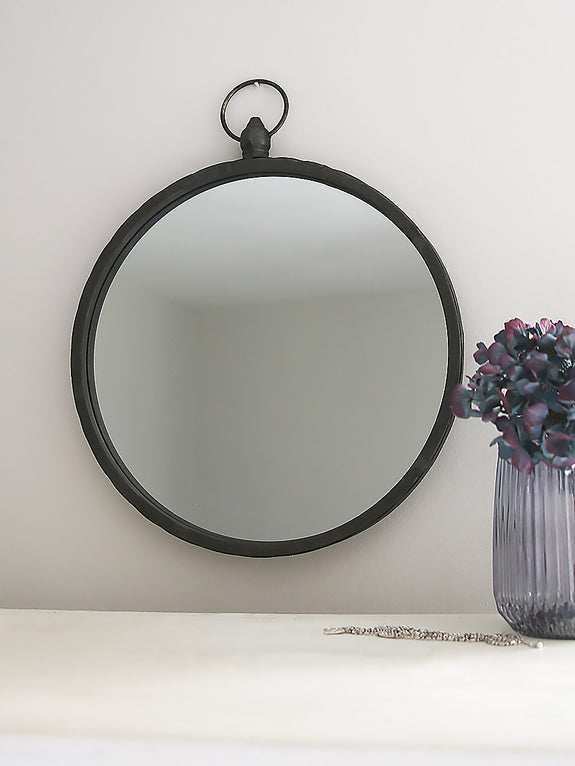 Metal Porthole Mirror