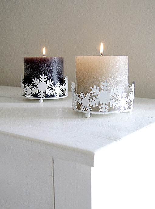 Snowflake Candle Ring