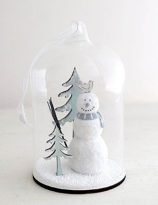 Snowman Snowscape Decoration