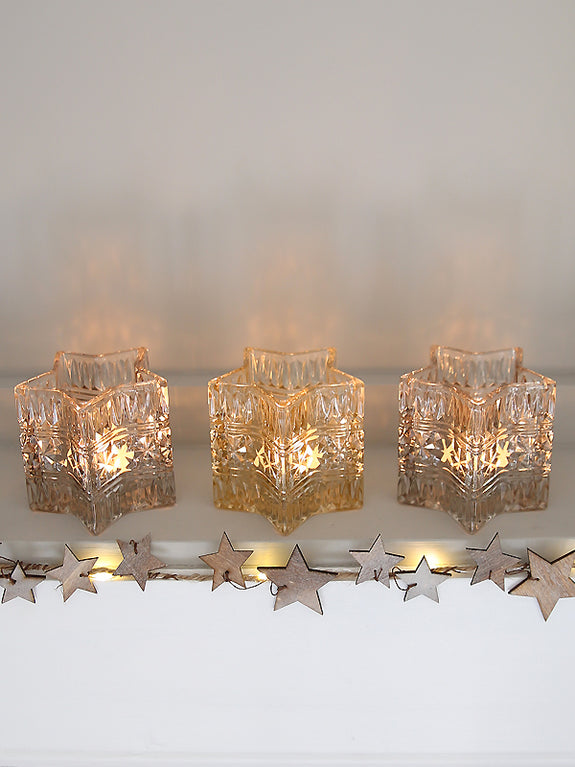 Greywashed Star Light Garland