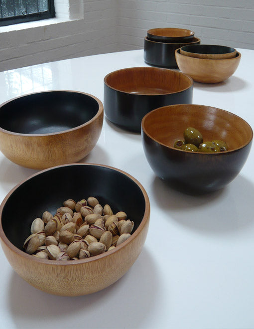 Two-Tone Snack Bowls