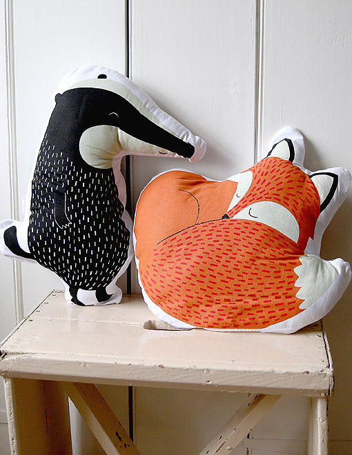 Woodland Creature Cushions