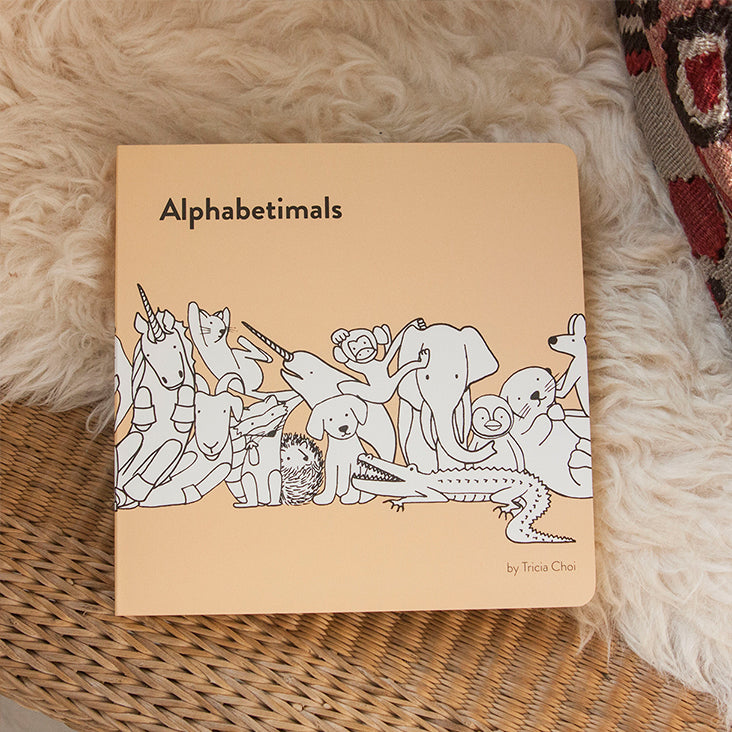 Alphabetimals: An ABC Board Book of Animals