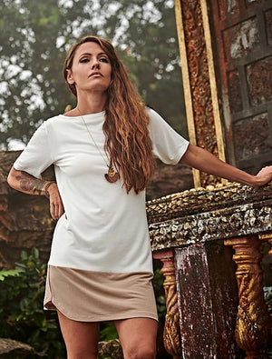 T-Shirt Dress, Paloma Private Label, ethical fashion, Bokor Collection