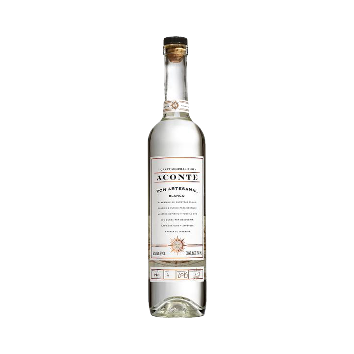 Ron Aconte blanco 750ml 40%