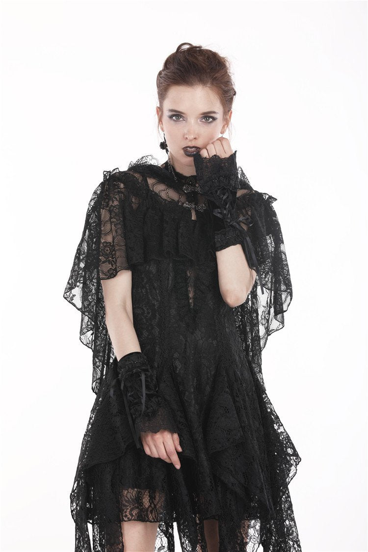Gothic lacey short gloves AGL004 - Gothlolibeauty