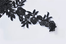 Load image into Gallery viewer, Gothic women half lace sleeves with flowers AGL006 - Gothlolibeauty