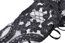 Load image into Gallery viewer, Elegant embroidery gothic gloves AGL009