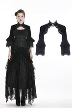 Load image into Gallery viewer, Gothic lolita velvet cape BW058 - Gothlolibeauty