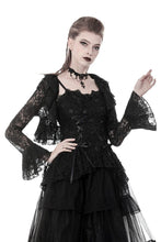 Load image into Gallery viewer, Gothic lolita lace cape BW078 - Gothlolibeauty