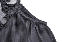Load image into Gallery viewer, Gorgeous tulle big sleeves halter gothic cape BW080