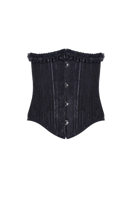 Gothic four buttons corset CW023 - Gothlolibeauty