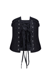 CW023 Gothic four buttons corset