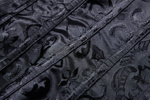 Gothic lolita five buttons corset CW024 - Gothlolibeauty