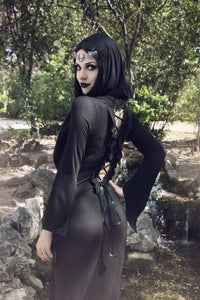 solf long T dress with back sexy hollow out DW051 - Gothlolibeauty