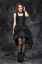 Load image into Gallery viewer, DW069 Elegant gothic jacquard fishtail dress with flowers(price is not including petticoat)