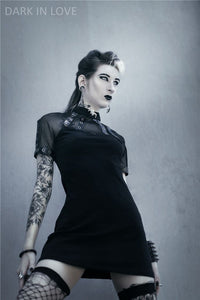 Punk corns row sexy Tee dress DW107 - Gothlolibeauty