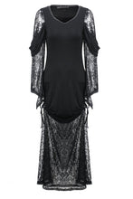 Load image into Gallery viewer, Gothic knited lace sexy dress DW155 - Gothlolibeauty