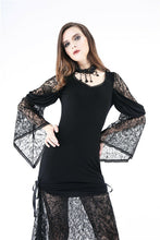 Load image into Gallery viewer, DW155 Gothic knited lace sexy dress