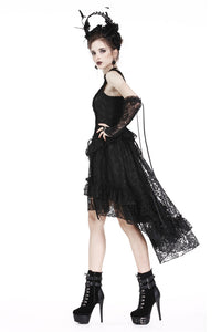 Gothic lolita lace cocktail dress (no petticoat incl.) DW198 - Gothlolibeauty
