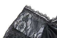 Load image into Gallery viewer, Gothic slit bust lace sleeve knitted dress DW227 - Gothlolibeauty