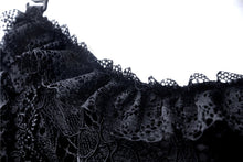 Load image into Gallery viewer, Gothic lolita elegant lace tasseled hem dress DW249 - Gothlolibeauty