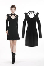 Load image into Gallery viewer, Women punk daily wear moon dress DW285 - Gothlolibeauty