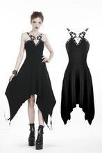Load image into Gallery viewer, Punk metal V chest dress DW315 - Gothlolibeauty