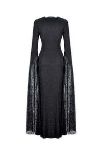 Gothic long sleeves sexy party pencil dress DW327 - Gothlolibeauty