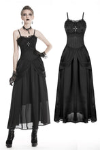 Load image into Gallery viewer, Gothic noble party wedding dress with jacquard  DW336 - Gothlolibeauty