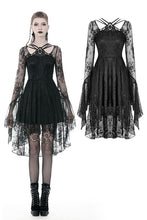 Load image into Gallery viewer, Gothic lady lacey cocktail dress DW343