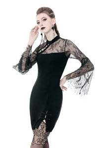 Women prom party slim dress with sexy hollow side chest DW350 - Gothlolibeauty