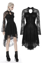 Load image into Gallery viewer, Gothic gorgeous cocktail lace dress DW386 - Gothlolibeauty