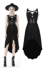 Load image into Gallery viewer, Punk moon fishtail dress DW401 - Gothlolibeauty