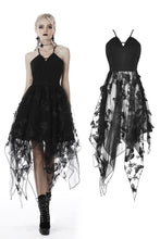 Load image into Gallery viewer, Gothic sexy butterfly strap dress DW409 - Gothlolibeauty