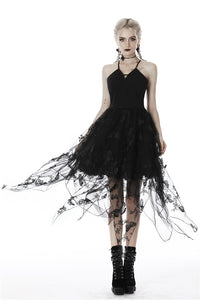 Gothic sexy butterfly strap dress DW409 - Gothlolibeauty