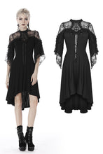 Load image into Gallery viewer, Gothic lace sexy shoulders cocktail dress DW418 - Gothlolibeauty