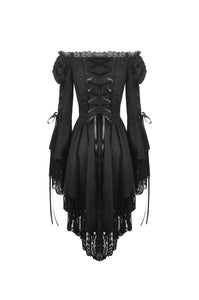 Gothic decadent longsleeves cocktail dress DW445