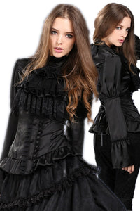 IW066 gothic Sweet Victorian Dream blouse shirt - Gothlolibeauty