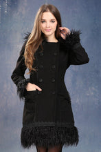 Load image into Gallery viewer, JW026 Cute Black Gothic Lolita Fashion  Coats