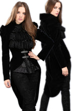 Load image into Gallery viewer, Gothic masquerade ball gowns cocktail jacket JW048 - Gothlolibeauty