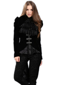 Gothic masquerade ball gowns cocktail jacket JW048 - Gothlolibeauty